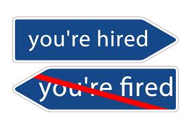 Corporate hiring and firing