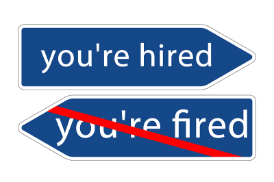 Corporate hiring and firing