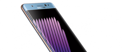 An official picture of Galaxy Note7 by Samsung.