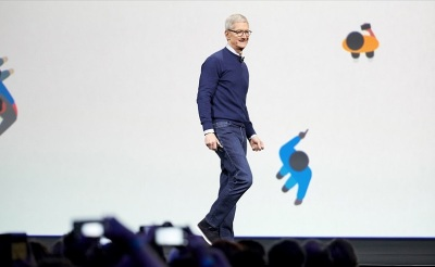 Apples CEO Tim Cook opens WWDC 2017 conference.